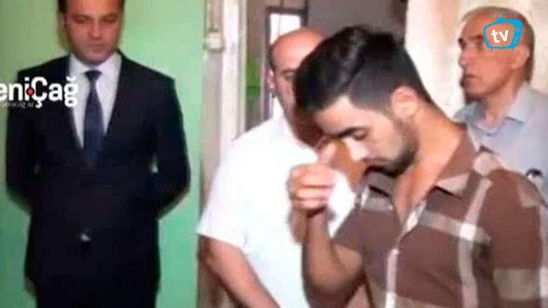 Amansızlıqla qətl törədən İlham Aslanovun istintaqından video - ÖZƏL