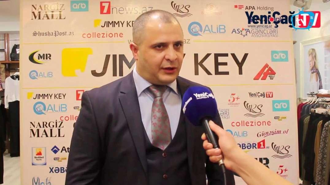 """JIMMY KEY"" və ""Collezione"" brendi Bakıda"