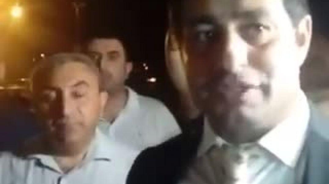 Fuad Abbasov Bakıda belə qarşılandı - VİDEO
