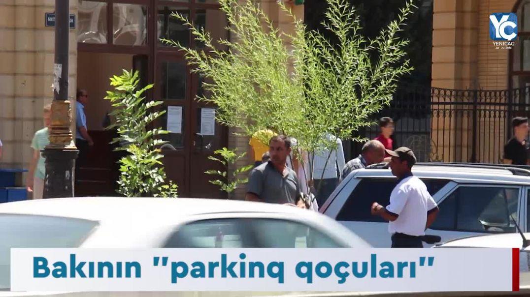 """Bakının """"parking qoçuları"""" Videoreportaj"""