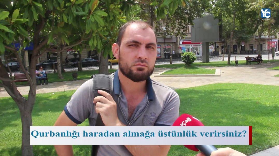 """""""Çox vaxt qurbanlar müsəlman adətinə uyğun kəsilmir"""" VİDEOSORĞU"""