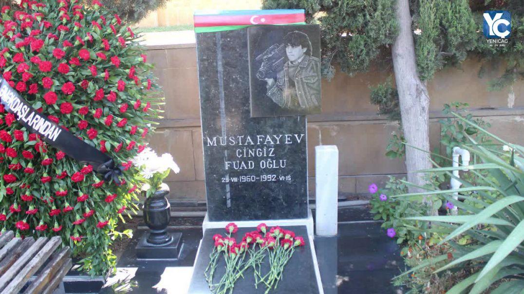 Milli Qəhrəman Çingiz Mustafayev məzarı başında anıldı