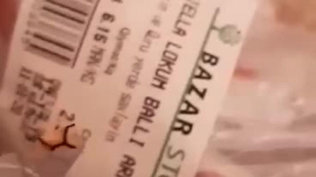 """Məşhur supermarketdə RƏZALƏT: """"Bazarstore""""dan alınan konfetdən görün nə çıxdı?"""