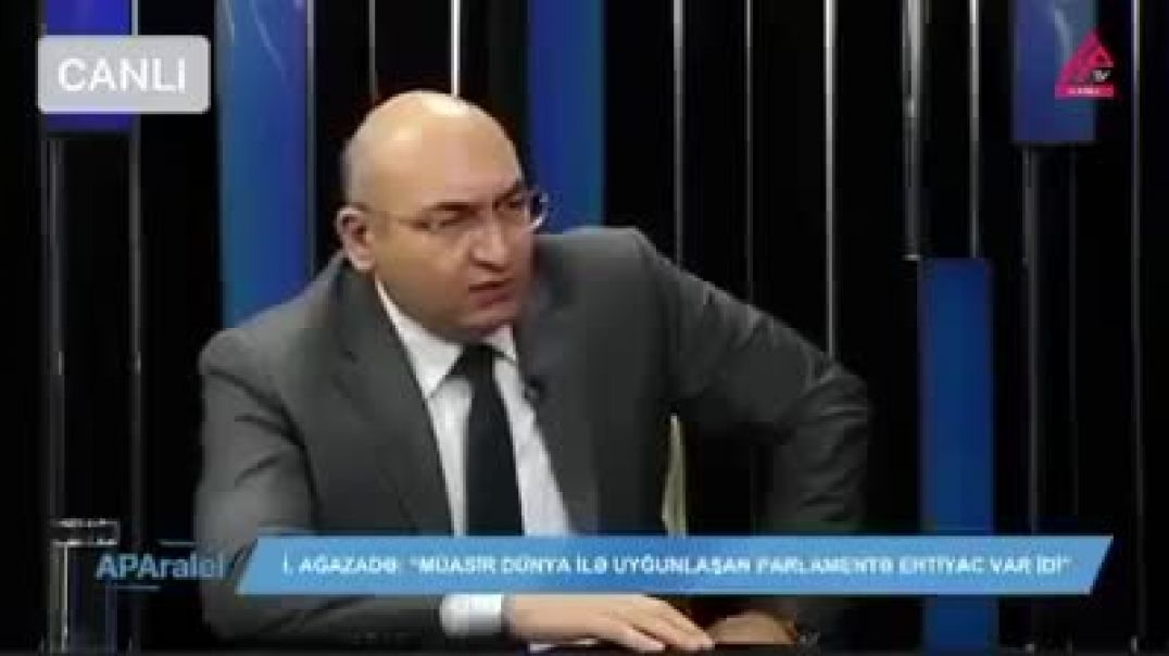 """Şok!!! İqbal Ağazadə deputat Elman Nəsirovu belə """"əzdi"""""""