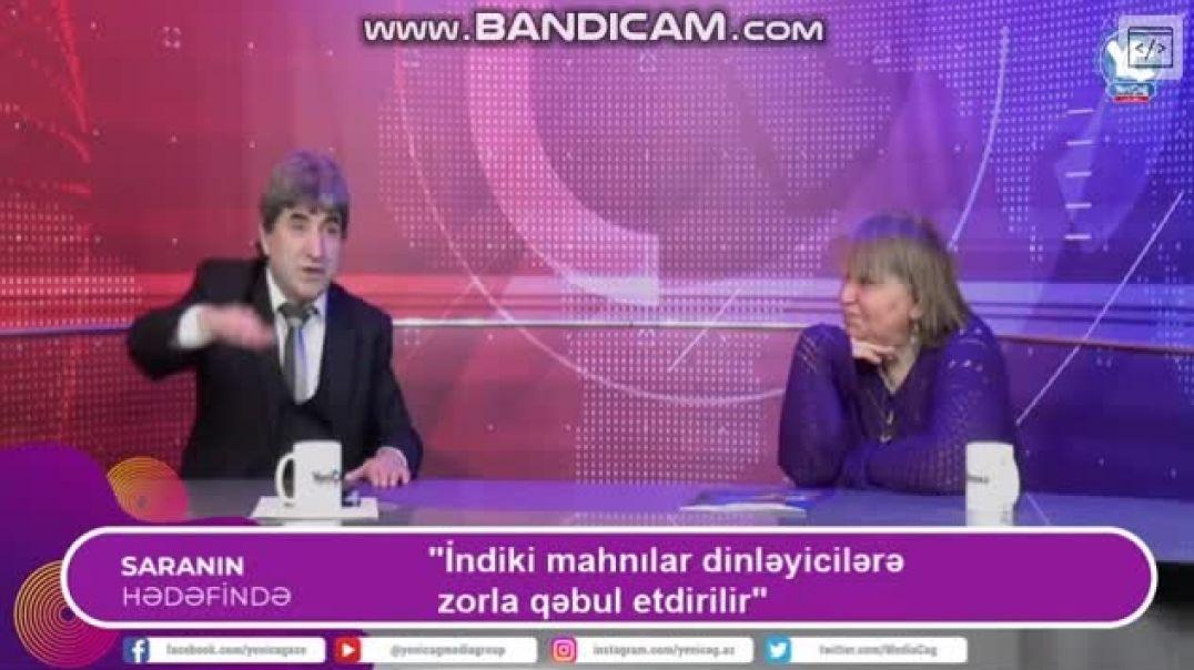 Azərbaycanlı müğənni canlı yayımda əsəbiləşdi